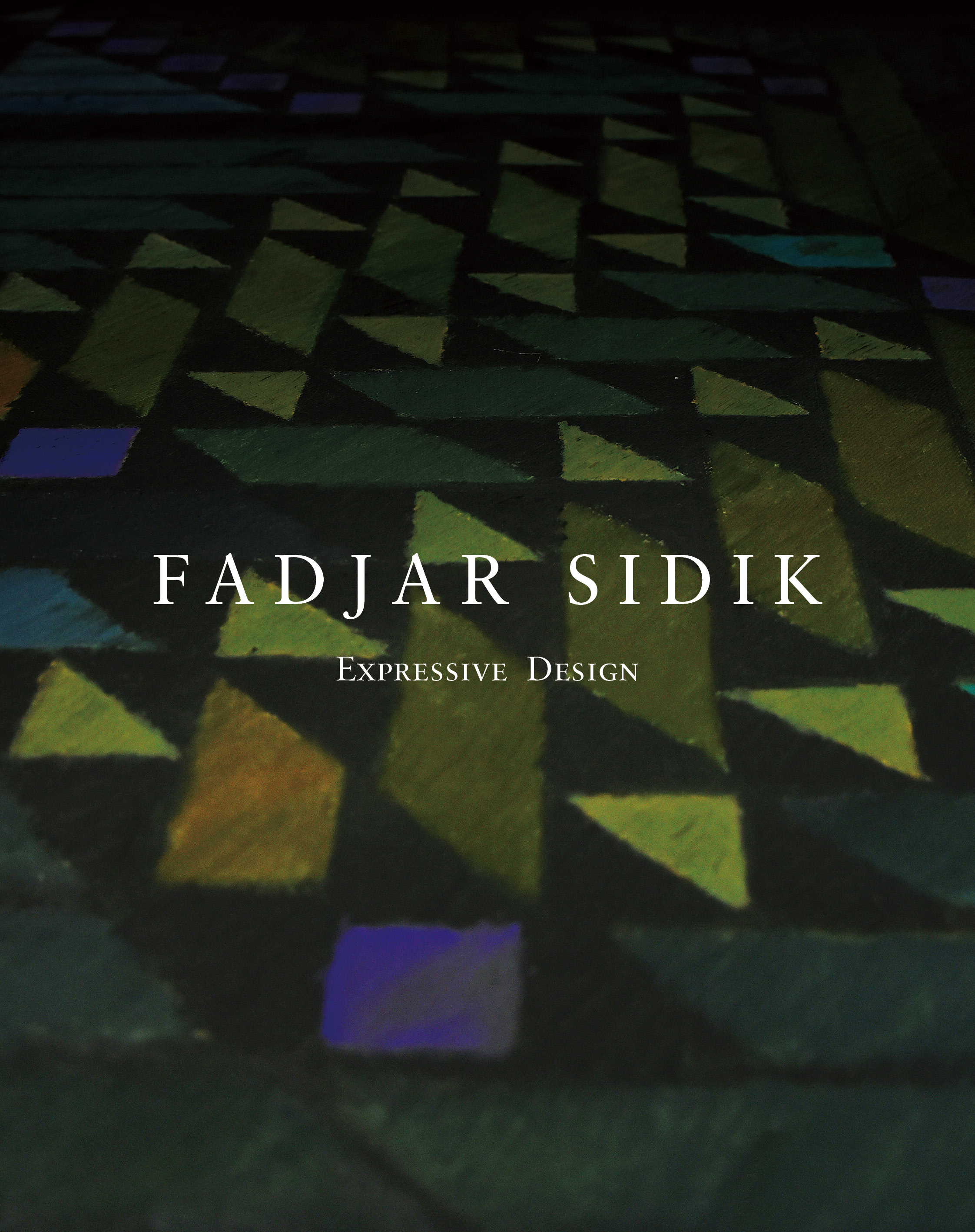 cover_publication_Fadjar Sidik: Expressive Design